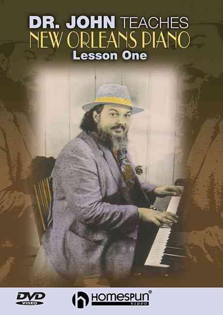 DR JOHN TEACHES NEW ORLEANS PIANO V1 BY REBENNACK,JOHN (DVD)