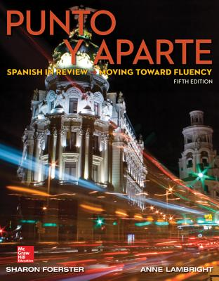 Punto Y Aparte By Foerster, Sharon/ Lambright, Anne